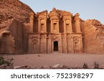 petra   jordan | Shutterstock . vector #752398297