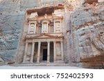 petra   jordan | Shutterstock . vector #752402593