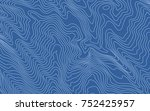 the stylized height of the... | Shutterstock .eps vector #752425957