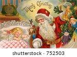 santa's midnight visit   an... | Shutterstock . vector #752503