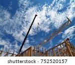 taken in 2008. a crane swinging ...   Shutterstock . vector #752520157