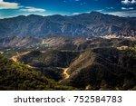 scenic overlook of calabasas...   Shutterstock . vector #752584783