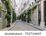 Old Street In Paris  France....