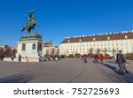 vienna  austria   december 24 ... | Shutterstock . vector #752725693