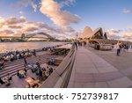sydney  australia   march 2017  ...   Shutterstock . vector #752739817