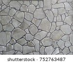 texture of the house wall | Shutterstock . vector #752763487