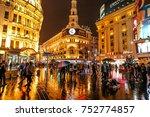 shanghai  china   november 08 ... | Shutterstock . vector #752774857