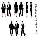 employee uniforms icon | Shutterstock . vector #752797387