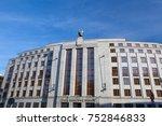 prague  czech republic   may 10 ...   Shutterstock . vector #752846833