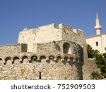a view of historical cesme... | Shutterstock . vector #752909503