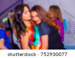 blurred for background. night... | Shutterstock . vector #752930077