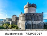 historical architecture in old... | Shutterstock . vector #752939017