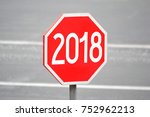 2018   signpost  roadsign | Shutterstock . vector #752962213
