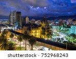 plaza botero square and...   Shutterstock . vector #752968243