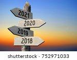 2018  2019  2020  2021  ... | Shutterstock . vector #752971033