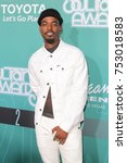 Small photo of Luke James arrives at the BET Presents: 2017 Soul Train Awards in Las Vegas, Nevada on November 5th 2017 at the Orleans Arena