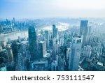 chongqing city  china | Shutterstock . vector #753111547