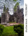 llanthony priory  wales.   Shutterstock . vector #753138637