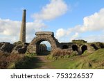 the remnants of the tin mine in ...