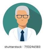 doctor web icon. head physician ... | Shutterstock .eps vector #753246583