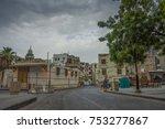 old street in unesco world... | Shutterstock . vector #753277867