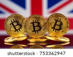 physical version of bitcoin ... | Shutterstock . vector #753362947