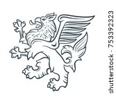 image of the heraldic griffin....