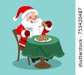 vector cartoon illustration of... | Shutterstock .eps vector #753420487