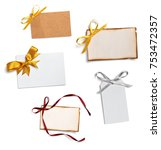 close up of notepaper with... | Shutterstock . vector #753472357