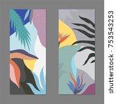 creative universal artistic...   Shutterstock .eps vector #753543253