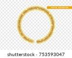christmas traditional...   Shutterstock .eps vector #753593047