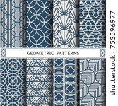 circle geometric vector pattern