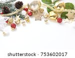celebration balls and other...   Shutterstock . vector #753602017