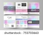 business templates for tri fold ... | Shutterstock .eps vector #753703663