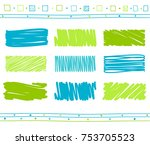 vector collection of retro... | Shutterstock .eps vector #753705523