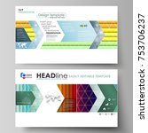 business templates in hd format ... | Shutterstock .eps vector #753706237