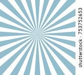 blue sunburst pattern... | Shutterstock .eps vector #753752653