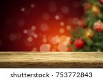a table with space for your... | Shutterstock . vector #753772843