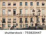 paris  france    november 7 ... | Shutterstock . vector #753820447