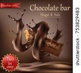 vector realistic sweet...   Shutterstock .eps vector #753829483