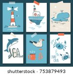 vector doodle illustration.... | Shutterstock .eps vector #753879493