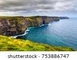 cliffs of moher | Shutterstock . vector #753886747