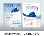 covers design with space for...   Shutterstock .eps vector #753897577