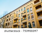 typical residential building in ... | Shutterstock . vector #753900397