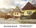 Colorful Wooden Houses In...