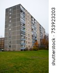 Small photo of Typical soviet block in Alytus, Lithuania