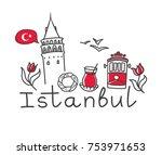 vector illustration istanbul