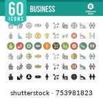 business and finance icons | Shutterstock .eps vector #753981823
