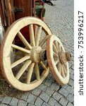 Small photo of Wheel trundle cart