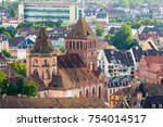 one of the biggest churches in...   Shutterstock . vector #754014517